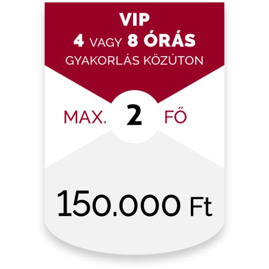 VIP MOTOROZÁS - 4 VAGY 8 ÓRÁS